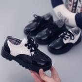 兒童鞋子男童小皮鞋9秋季8男孩6男寶4寶寶1-10歲2半3黑色7英倫風5 晴天時尚