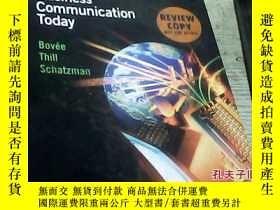 二手書博民逛書店Business罕見Communication Today`Y2