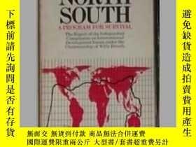 二手書博民逛書店英文原版罕見North-South:A Program for