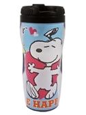 【卡漫城】 Snoopy 隨行杯 藍 ㊣版 糊塗塔客 史奴比 史努比 隨手 隨身 隔熱水杯 隨手壺 台灣製 380cc