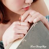 金色十件組合戒指 【櫻桃飾品】【10585】