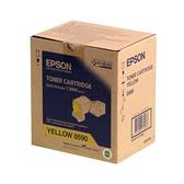 【奇奇文具】愛普生EPSON S050590 黃色 原廠碳粉匣