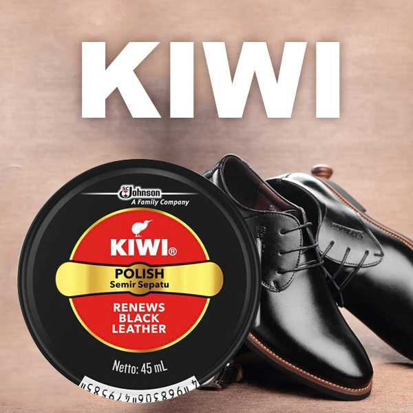 KIWI 奇偉 固體鞋油 黑色 45ml 鞋油第一品牌【小紅帽美妝】NPRO