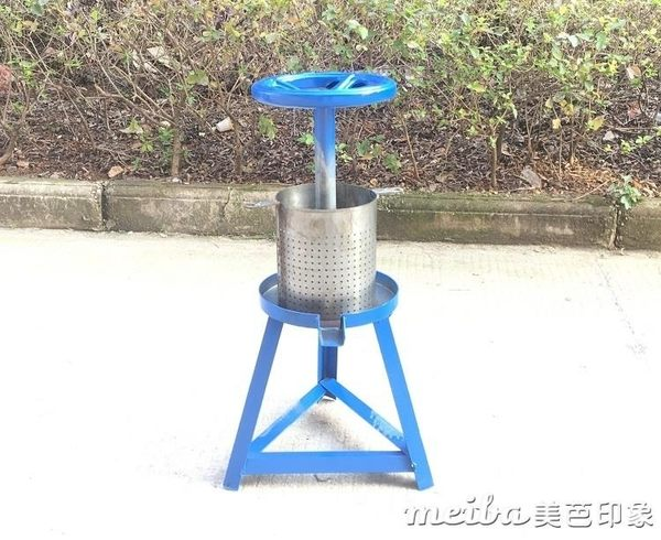 小型家用手動榨油機 榨豬油渣機壓豬油餅機榨油脂商用油水過濾機QM 美芭3/7
