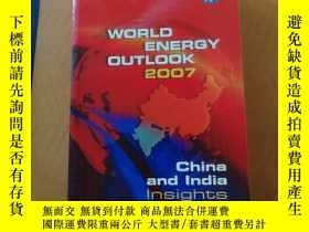 二手書博民逛書店WORLD罕見ENERGY OUTLOOK 2007Y27391
