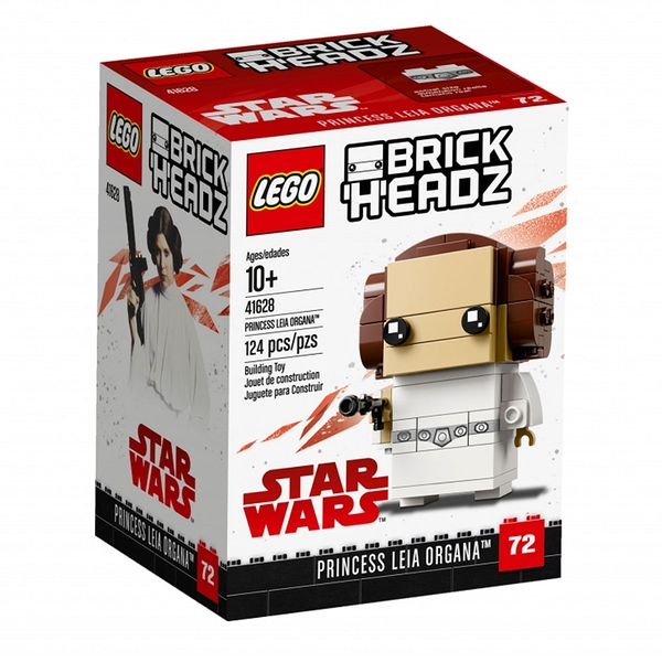 LEGO樂高 BRICK HEADZ系列 Princess Leia Organa™_LG41628