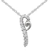 項鍊 925純銀鑲鑽吊墜-流行簡約生日母親節禮物女飾品73dk501【時尚巴黎】