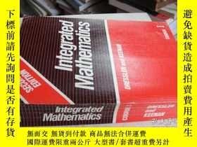 二手書博民逛書店英文書:Integrated罕見MathematicsY1813
