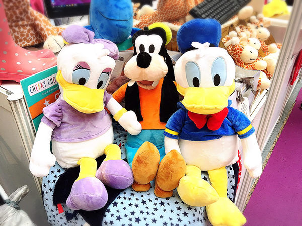 【美國 ZOOBIES X DISNEY】迪士尼多功能玩偶毯【正版授權】- 黛絲 Daisy Duck
