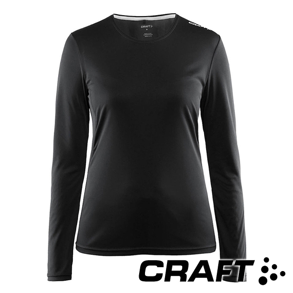 【CRAFT】女長袖圓領排汗衣 MindLSTeeW 1903941 慢跑 運動 排汗 快乾 透氣 運動 單車 登山健行 跑步