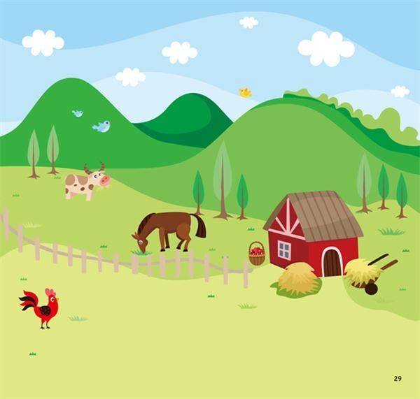 簡筆畫:創意塗鴉簡筆畫《動物王國》