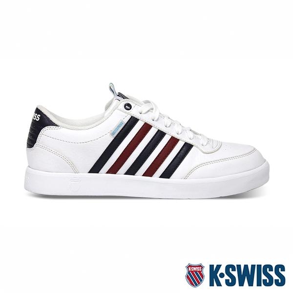 K-SWISS Court Lite CMF WP輕量防水鞋-女-白/藍/紅