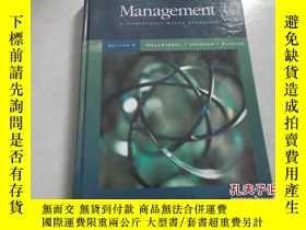 二手書博民逛書店Management:A罕見COMPETENCY-BASED A