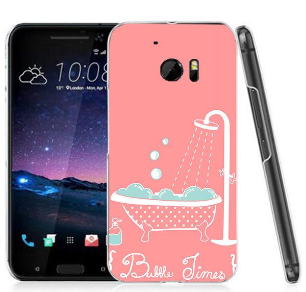 ♥ 俏魔女美人館 ♥ (粉紅浴缸*水晶硬殼}HTC 10 手機殼 手機套 保護套 保護殼