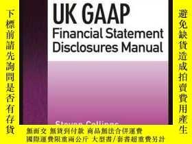 二手書博民逛書店UK罕見GAAP Financial Statement Disclosures ManualY410016