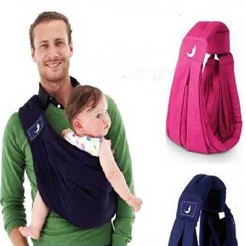 售完即止-多功能西爾斯背巾嬰兒背帶新生兒橫抱式寶寶抱傳統透氣斜背袋7-6(庫存清出S)