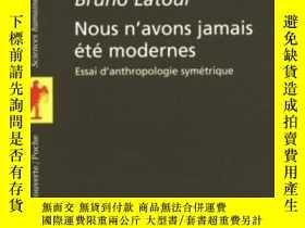 二手書博民逛書店Nous罕見N avons Jamais Ete ModernesY364682 Bruno Latour L