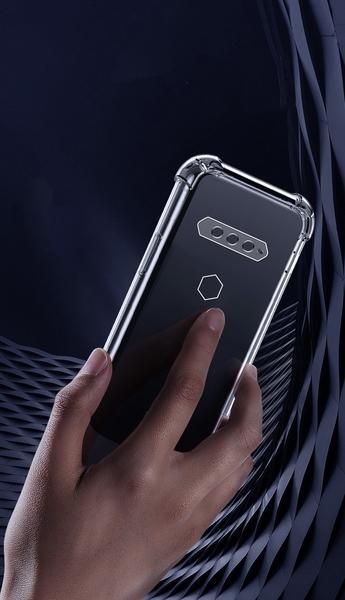【四角加厚抗摔】Black Shark 黑鯊4 6.67吋 電競手機 TPU套/手機保護殼