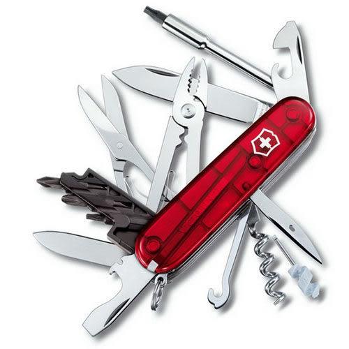 瑞士 維氏 Victorinox Cyber Tool 網際工具 萬用型 34用瑞士刀 1.7725.T 露營│登山【適用電腦工程師】