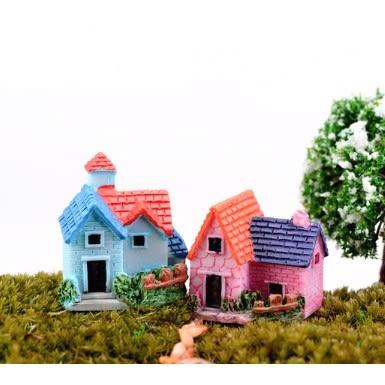 ⓒ迷你別墅微景觀 小房子 多肉植物創意微景觀【A002006】