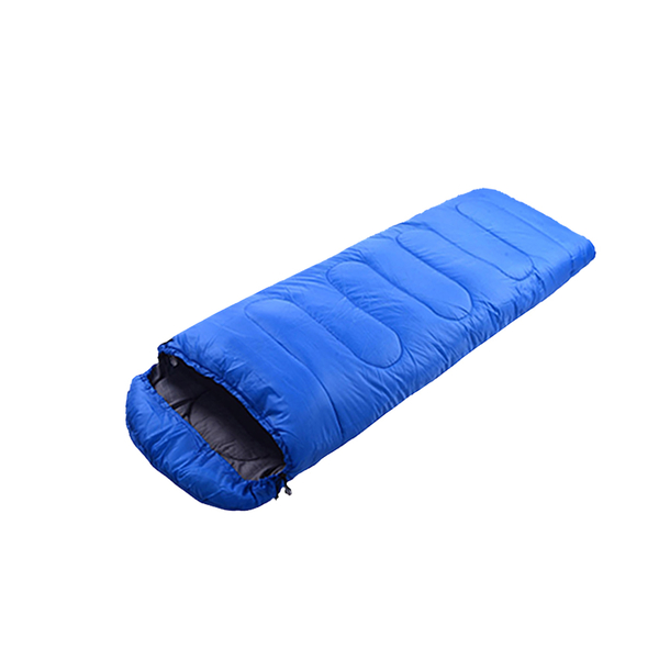單人睡袋 (210x75 cm) 旅行睡袋 信封袋帽睡袋 登山 露營 戶外 旅行 旅遊 環島 現貨【VENCEDOR】