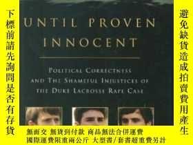 二手書博民逛書店Until罕見Proven InnocentY256260 Stuart Taylor Thomas Dunn
