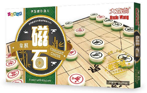 『高雄龐奇桌遊』 大富翁 新磁石象棋 大 繁體中文版 正版桌上遊戲專賣店