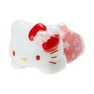 【震撼精品百貨】Hello Kitty_凱蒂貓~Sanrio 三麗鷗明星拜訪春櫻系列趴趴造型陶磁筷架(KITTY)#64864