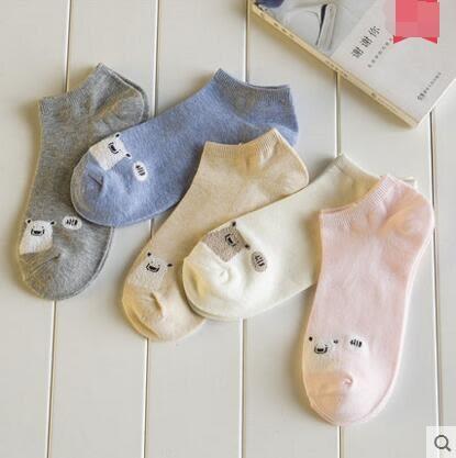 襪子女夏季短襪防臭純棉襪薄款韓國可愛船襪女士淺口隱形四季女襪