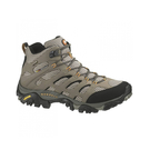 [Merrell] 男 MOAB MID GORE-TEX 黃金鞋底健行鞋 棕黑 (ML87311) 秀山莊戶外用品旗艦店