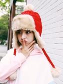 女冬天加厚防風針織百搭加絨保暖護耳毛線雷鋒帽子 萬客居