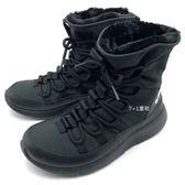 《7+1童鞋》大童  NIKE VENTURE  (GS)  輕量 保暖  雪靴  運動短靴   F843   黑色