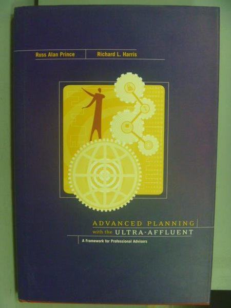 【書寶二手書T9/財經企管_PHH】Advanced Planning with the Ultra-Affluent