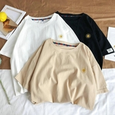 棉麻衣夏天棉麻短袖男士大碼胖潮流中國風刺繡T恤學生寬鬆舒適亞麻半袖