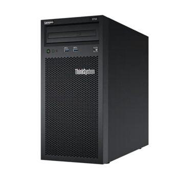 【加購2016 Essential Server OS】Lenovo ST50 (7Y48A00ACN) 非熱抽伺服器【Intel E-2104G / 8GB / 1TB】