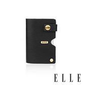 背包族【ELLE HOMME】ELLE多層卡片夾/收納夾 (黑色)