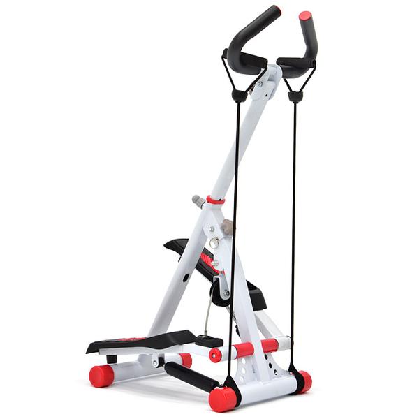 有氧扶手上下踏步機(贈彈力繩.折疊收納)大角度登山踏步機美腿機.健身器材.推薦哪裡買專賣店ptt