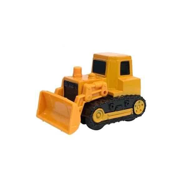 A&L奧麗迷你合金車 NO.15 推土機 迴力車 堆土機 山貓 工程模型車(1:64)【楚崴玩具】