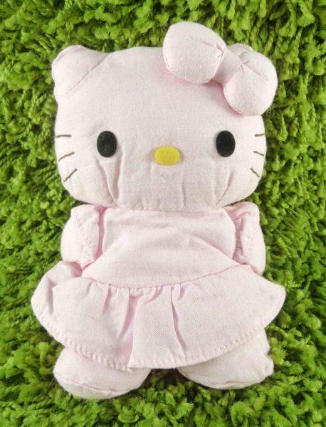 【震撼精品百貨】Hello Kitty 凱蒂貓~KITTY棉布娃娃-粉