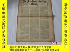 二手書博民逛書店外文原版報紙罕見THE MANCHESTER GUARDIAN WEEKLY 1948年4月22日 第17期 共1