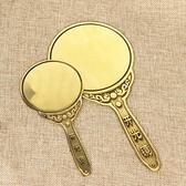 開光純銅八卦風水鏡開光鏡生肖銅鏡照妖鏡銅鏡法器擺件
