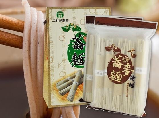 農會特產e購網【二林鎮農會】 手工日晒蕎麥麵禮盒