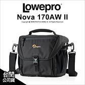 Lowepro 羅普 Nova 諾瓦 170 AW II 新星 單肩側背包 斜背 攝影包 相機包 公司貨 【24期免運】薪創數位