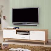 【森可家居】金詩涵5尺電視櫃 8ZX575-6 長櫃 木紋質感 無印風 北歐風