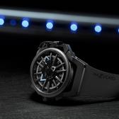 Mazzucato RIM 鷗翼式翻轉超跑雙機械石英手錶-48mm RIM03-GY536