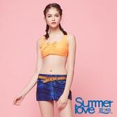 【Summer Love 夏之戀】比基尼短版三件式泳衣(S18707)