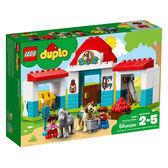 樂高積木LEGO 得寶系列 10868 農場小馬馬棚