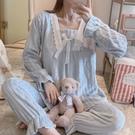 睡衣套裝 新款秋冬季法蘭絨睡衣女ins風純色加厚珊瑚絨學生休閒家居服套裝 維多原創