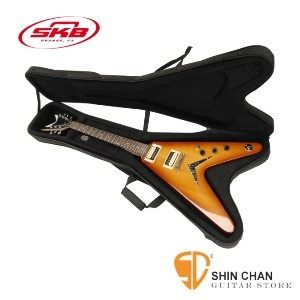 電吉他case ►V型電吉他專用輕體硬盒 SKB SC58 【SC-58/Flying VR Guitar Soft Case】