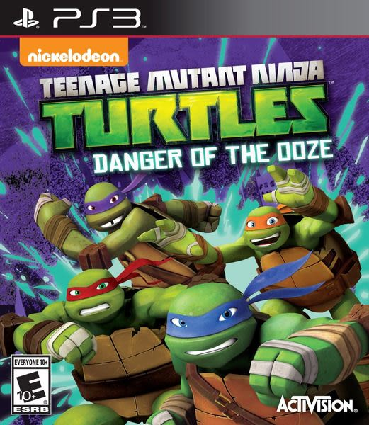 PS3 忍者龜:變種危機 -英文美版- Ninja Turtles: Danger of the OOZE